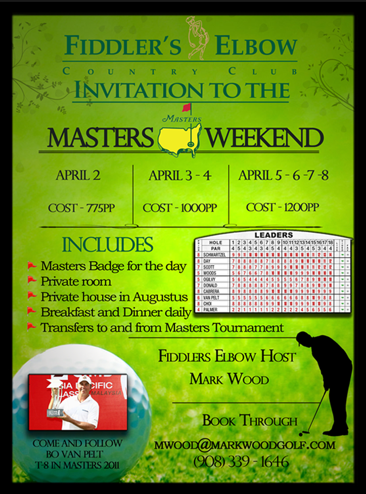 Mark Wood Masters Flyer