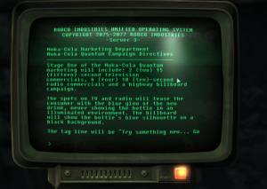 Nuka Cola Marketing Terminal