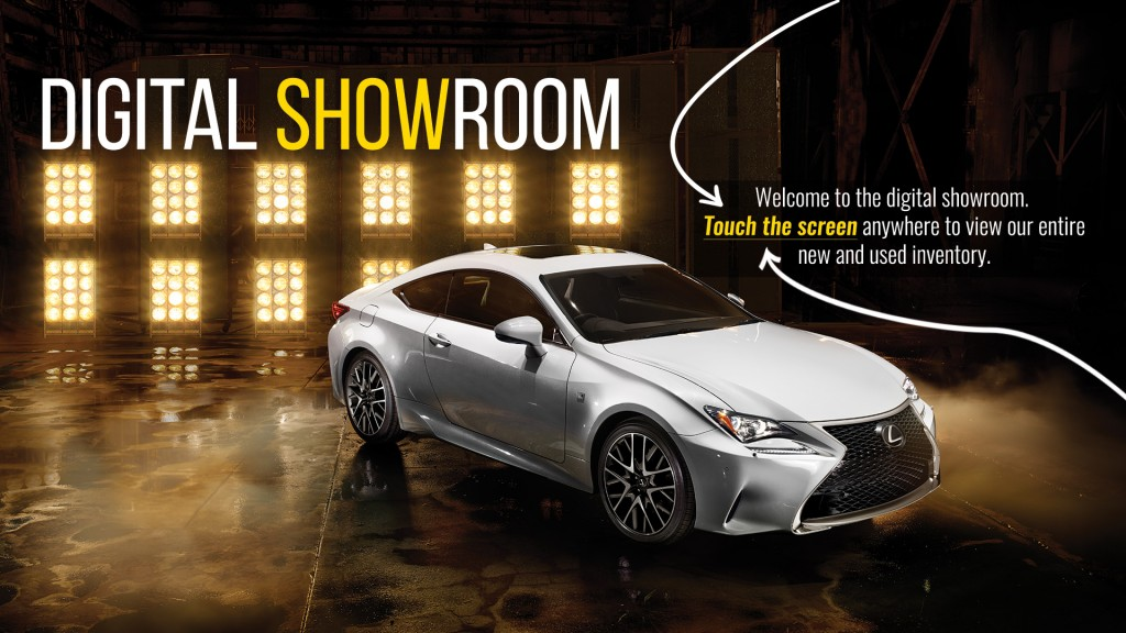 Lexus Digital Showroom 2016 NX