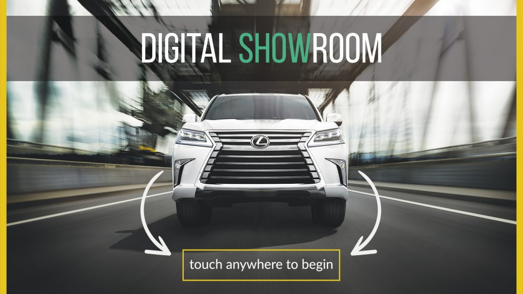 Lexus Digital Showroom
