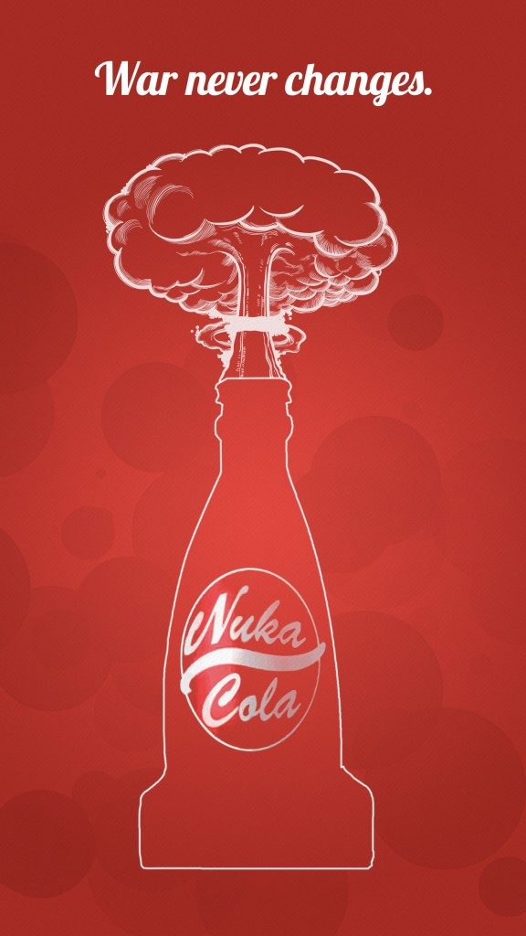 fallout 4 nuka cola wallpaper mobile phone